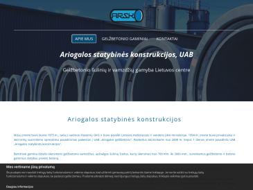 Ariogalos statybinės konstrukcijos, UAB