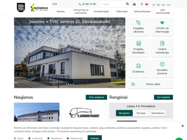 Kaišiadorių r. savivaldybės administracijos Kaišiadorių m. seniūnija