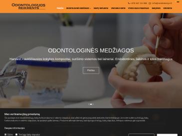 Odontologijos reikmenys, UAB