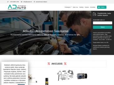 Adauto - Autoservisas Šiauliuose