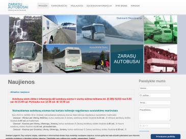 Zarasų autobusai, UAB