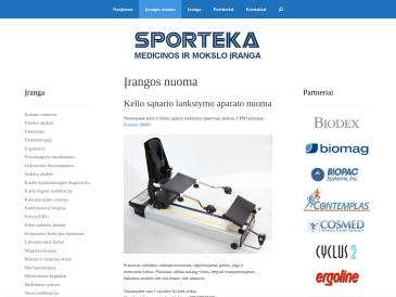 Sporteka, UAB