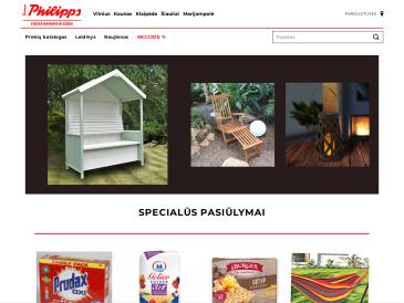 Thomas Philipps, parduotuvė