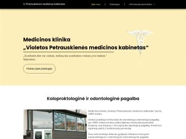 V. Petrauskienės medicinos kabinetas