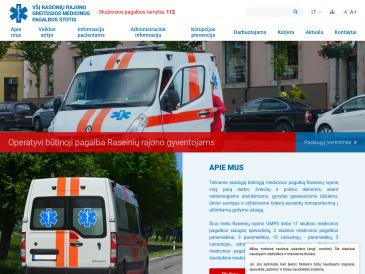 Raseinių rajono greitosios medicinos pagalbos stotis, VšĮ