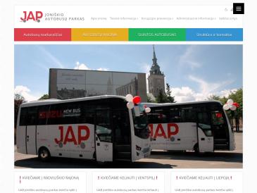 Joniškio autobusų parkas, UAB