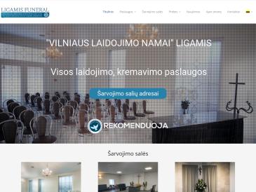Ligamis, Vilniaus laidojimo namai, UAB
