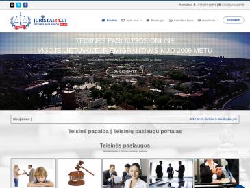 Teisinių paslaugų portalas JURISTAI24.lt