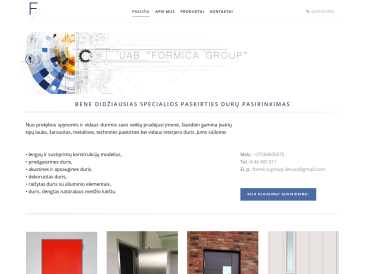 Formica group, UAB