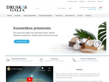 Druskos.eu, Negyvosios jūros sveikatinimo produktai
