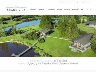 Scandivila, atostogų namai