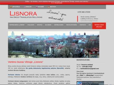 Lisnora, UAB