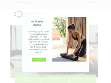 3D sveikatingumo studija