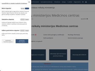 Lietuvos Respublikos vidaus reikalų ministerijos Medicinos centro Kauno odontologijos kabinetas
