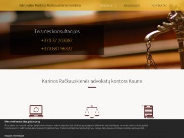 Advokatės Karinos Račkauskienės kontora