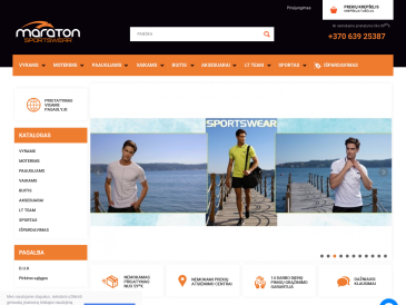 "Maraton, parduotuvė, UAB ""Maraton Baltic"""