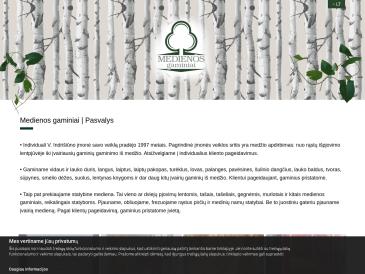 Medienos gaminiai, V. Indrišiūno įmonė