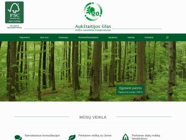 Aukštaitijos šilas, miško savininkų kooperatyvas