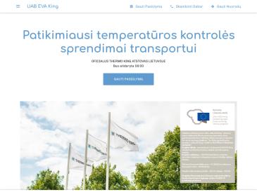 EVA King, oficialus Thermo King atstovas Lietuvoje, UAB