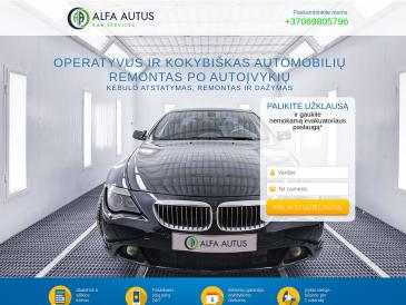 Alfa autus, UAB