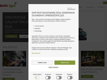 Baltic Agro Machinery, Panevėžio atstovybė, UAB