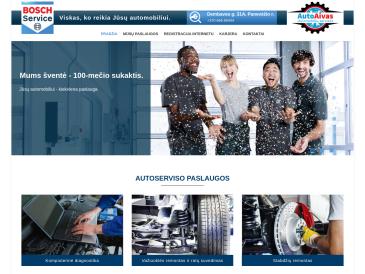 Autoaivas Bosch Car Service