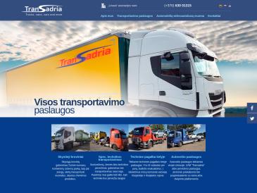 Transadria, specialiosios technikos pervežimai, UAB
