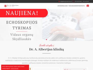 Dr. A. Albertjan klinika, ozono terapija