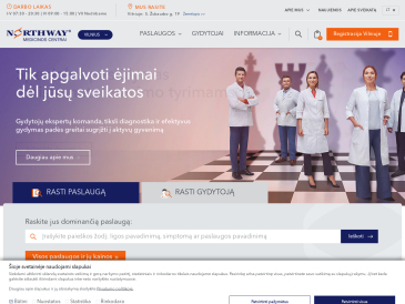 """Medicinos centras """"Northway"""" Vilniuje"""