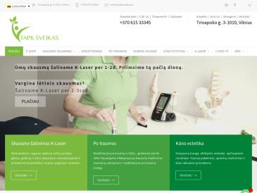 Tapk sveikas, kineziterapijos, skausmo medicinos ir kūno estetikos klinika