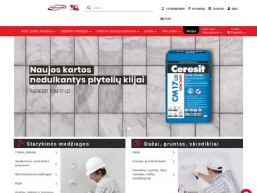Ceresit Pro centras, parduotuvė