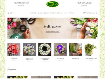 """Lanka, gėlių salonas, UAB """"Gėlių lanka"""""""