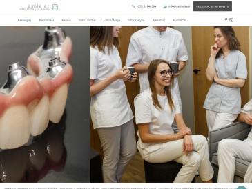 SMILE ART, odontologijos studija