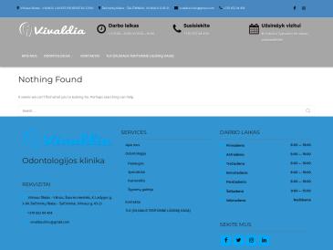 Vivaldia, odontologijos klinika, UAB