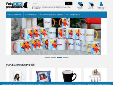 FOTOpaslaugos Jums
