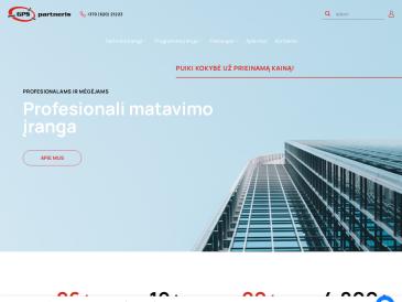 GPS partneris, UAB, šveicarų kompanijos GEOMAX AG atstovas Lietuvoje