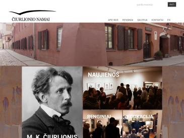 M. K. Čiurlionio namai, memorialinis kultūros centras