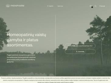 Parapharm homeopatijos vaistinė, filialas, UAB