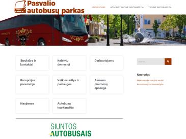 """Pasvalio autobusų stotis, UAB """"Pasvalio autobusų parkas"""""""