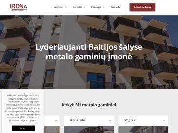 Irona, bendra Lietuvos-Rusijos UAB
