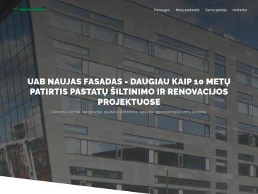 Naujas fasadas, UAB