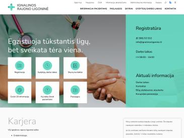 Ignalinos rajono ligoninė, konsultacijų poliklinika, VšĮ