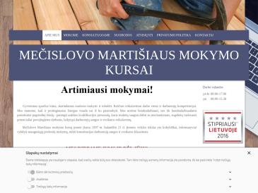 Mečislovo Martišiaus mokymo kursai, UAB