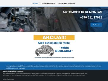 J. Pavilonienės IĮ, servisas