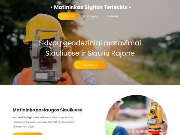 Matininkas Sigitas Terleckis