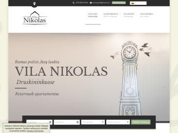 """Vila Nikolas, UAB """"Nikolas-LT"""""""