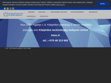 Klaipėdos paslaugų ir verslo mokykla