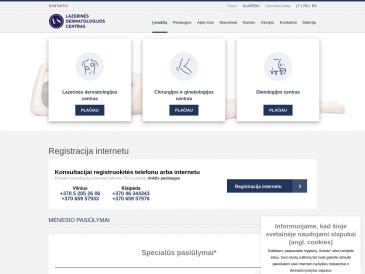 Vilniaus lazerinis centras, gydytojo dietologo konsultacijos Klaipėdoje