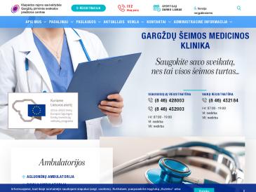 Gargždų šeimos medicinos klinika, suaugusiųjų skyrius
