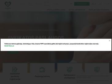 Jonavos pirminės sveikatos priežiūros centras, VšĮ